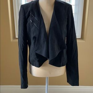 Just fab black jacket. NWT
